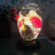 Đèn xông tinh dầu thuỷ tinh rạn số 11