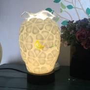 Đèn xông tinh dầu hoa cúc ghép 10