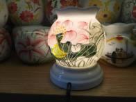 Đèn xông tinh dầu hoa sen đỏ hình quả lựu