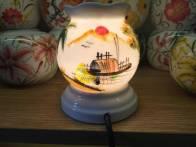 Đèn xông tinh dầu đồng quê sông nước