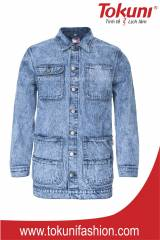 JACKET ACID WASH
