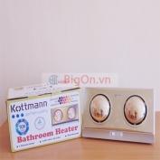 Đèn sưởi phòng tắm KottMann 2 bóng K2B-G