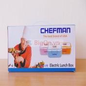 Hộp cơm hâm nóng Chefman ruột Inox CM - 112i