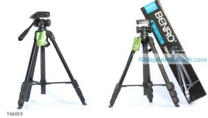 chân máy ảnh benro T600ex