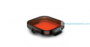 Filter Red Gopro lặn biển