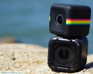 Polaroid Cube plus action camera wifi