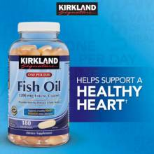 Kirkland Fish Oil Omega-3 180 viên