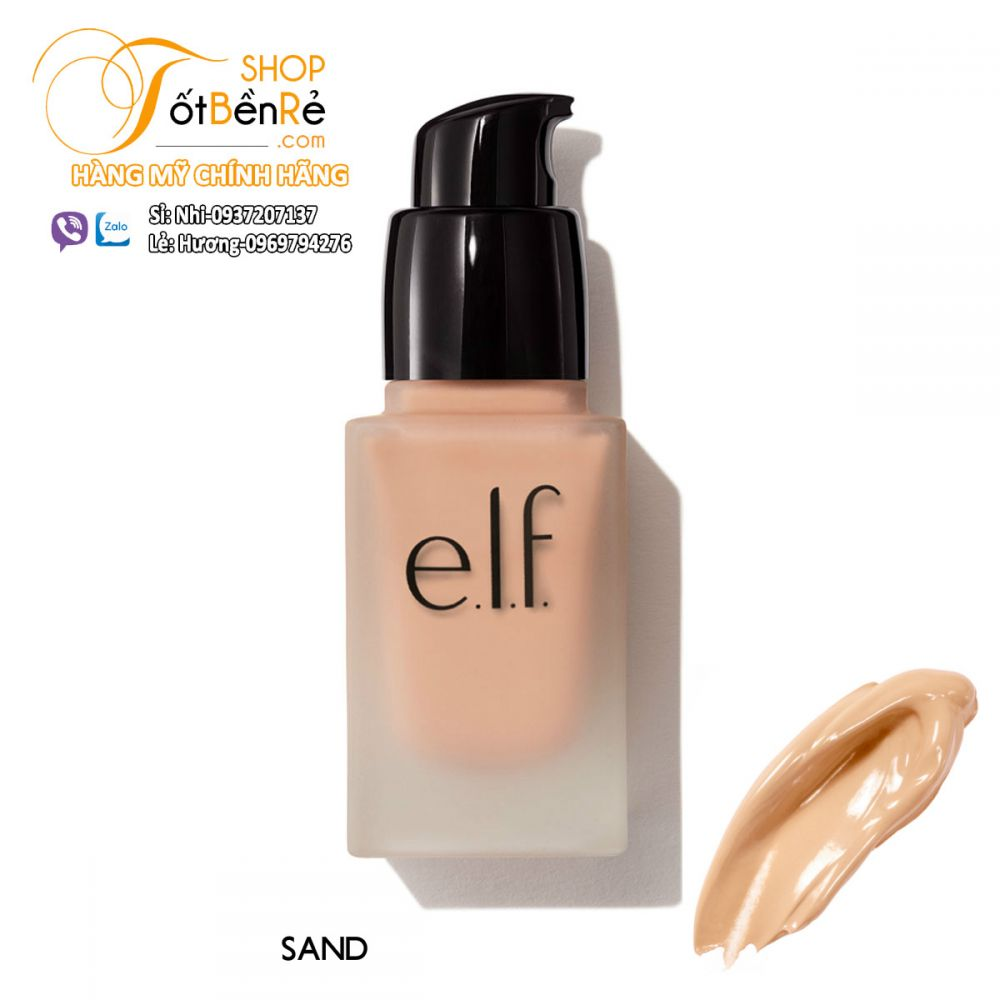 Kem nền Elf Studio Flawless Finish Foundation 20ml - Sand