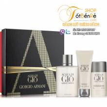 Gift set Acqua Gio for Men 3 pcs