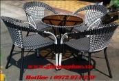 Bộ bàn ghế cafe BP180
