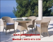 Bộ bàn ghế cafe BP182