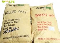 Yến mạch úc tươi nguyên chất CUSTOM FOOD GROUP