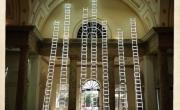 Những tác phẩm nghệ thuật từ thang nhôm