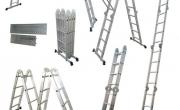 Hướng dẫn cách dùng thang nhôm gấp 4 đoạn
