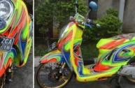 Honda Scoopy biến hóa ...