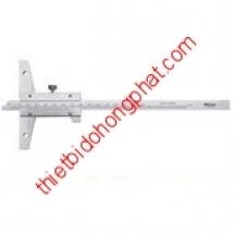 Thước đo sâu cơ khí 527-203 (0-300mm/0.05mm)