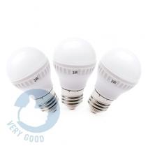 3W-Bộ 3 bóng đèn tiết kiệm điên