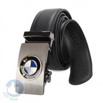 Thắt lưng nam da bò khóa gạt logo BMW
