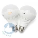 9W-Bộ 2 bóng đèn tiết kiệm điện