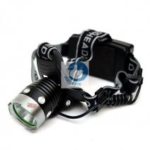 Đèn pin siêu sáng đeo trán (2pin sạc)