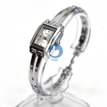 Đồng hồ lắc tay nữ Renos mặt vuông (MS trắng)