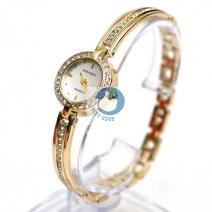 Đồng hồ lắc tay đính đá HONGRUI ( màu vàng)