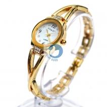 Đồng hồ lắc tay đính đá King Girl ( màu vàng)
