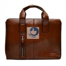 Túi xách da nam đựng laptop Zefer - 999 nâu
