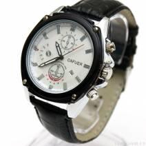 Đồng hồ nam dây da cafuer 5 kim hiển thị ngày