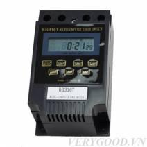 Bộ ổ cắm hẹn giờ điện tử tắt mở nguồn điện 220v KG316T