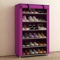 Tủ vải đựng giày dép 6 tầng