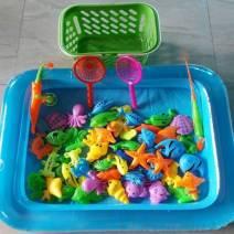Bộ bể câu cá đồ chơi cho bé 2 cần