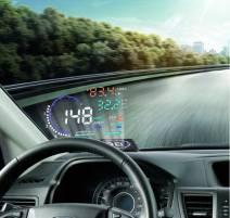 Thiết bị hiển thị thông tin lên kính lái ô tô HUD A8