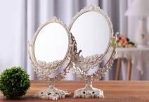 Gương trang điểm 2 mặt cổ điển