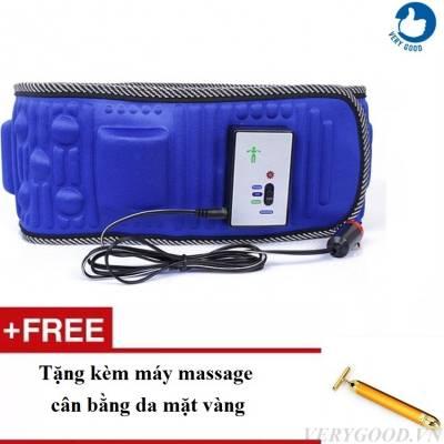Đai massage X5 tặng kèm máy massage cân bằng da mặt]