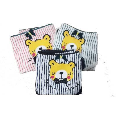 Combo 3 quần lót cotton kẻ sọc QL6]