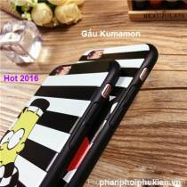 Ốp Dẽo Kumamon iphone