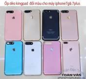 Ốp dẽo iphone 6 giả iphone 7 thương hiệu KINGPAD