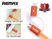 Cáp USB Remax Aurora 2 Đầu Có Đèn Led