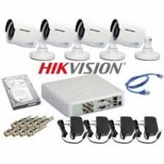 TRỌN BỘ 04 CAMERA HDTVI HIKVISION (1MP)