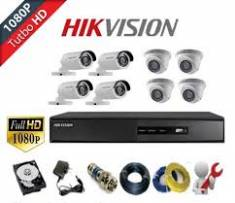 TRỌN BỘ 08 CAMERA HDTVI HIKVISION (1MP)