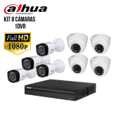 TRỌN BỘ 08 CAMERA IP DAHUA 1.0MP