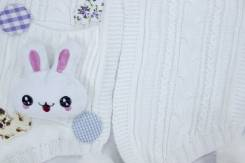 Khăn bé gái con thỏ