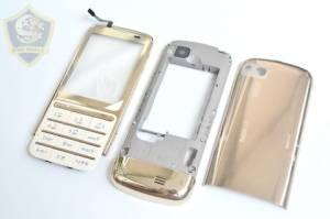 Vỏ Nokia C3-01 Gold chính hãng mới 100%-đầy đủ các màu