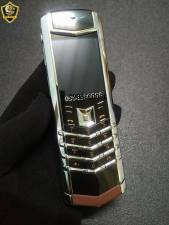 Vertu-signature-S-Stainless-Steel-Brown-Leather-mau-Den-bac-da-nau