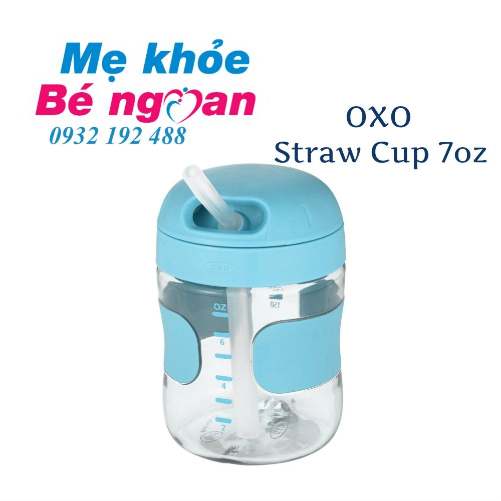 Bình tập uống OXO Straw cup 9m+