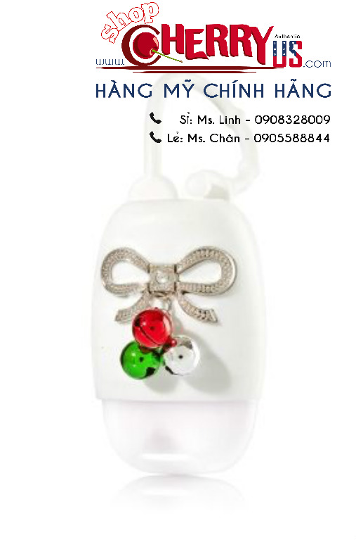 Holder BBW – túi đựng gel rửa tay Jingle Bell Bow