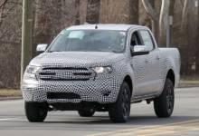 Những hình ảnh trên đường đầu tiên của Ford Ranger 2019