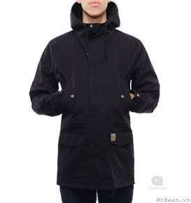 Áo khoác Carhartt battle parka jacket black
