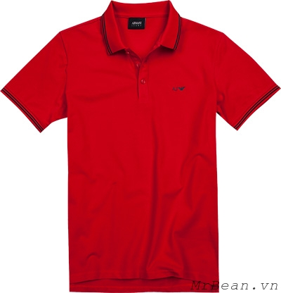 Armani Jeans Men's Tipped Short Sleeve Polo Shirt